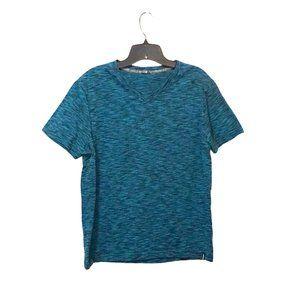 Tony Hawk V-Neck Pinstriped T-shirt